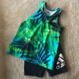 Kids Adidas activewear set